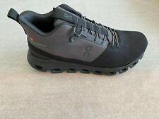 On Running Men's Sneakers Cloud Hi In Eclipse Black