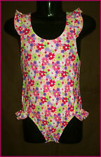 BABY GIRLS TOGS Sz 2 ( 24mths) Carters PINK FLORAL COSSIE SWIMWEAR BATHERS - New