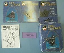OOP Mithril LotR 32mm R'Wraith & Uvatha, Mssng Scabard & L Arm 1999 JS029