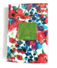 Kate Spade Rosa Terrace Floral Print Cotton Tablecloth Multicolor 60 x 102 in