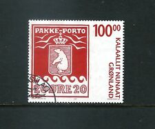 Greenland - used 100kr Parcel Post Centenary - 2007 - Sc# 497