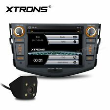 "XTRONS 7"" Car DVD Player GPS Nav Stereo Reverse Camera For Toyota RAV4 2006-2012"