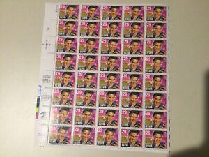 1992 Elvis Presley 29 Cent US Stamps - Complete Block Sheet