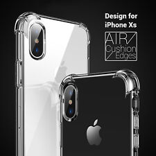 CRAZY For iPhone X XS XS Max XR Hybrid Case Crystal Clear Shockproof Cover