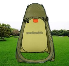 Green Privacy Shelter Tent Toilet Outdoor Restroom Portable Camping Beach Shower