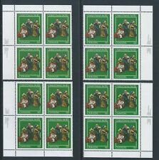 Canada #975 Christmas - Creche Figures Matched Set Plate Block MNH
