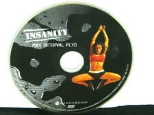 Max Interval Plyo -  Beachbody Insanity Workout Replacement DVD Disc Only