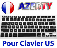 "☆ Protection TPU pour Clavier QWERTY vers AZERTY - Macbook Air Pro 13"" 15"" 17"" ☆"