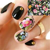 Nagel Tattoo Aufkleber Nail Art Water Transfer Sticker Blumen