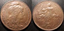 France - IIIème République - 10 centimes Daniel-Dupuis 1913 SUP !! F.136/22