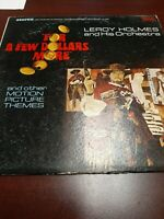 Record Album LP For A Few Dollars More Leroy Holmes VG