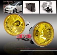 00-05 ECHO/03+ MR2 SPYDER/04-09 HIGHLANDER PRIUS XA BUMPER YELLOW FOG LIGHT LAMP