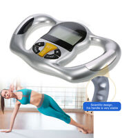 Digital LCD Body Fat Analyzer Handheld Health Monitor BMI Meter Tester Calculato