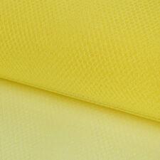 Faschingsstoff Tüll Glitzertüll gelb Glitzer 1,5m Breite