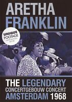 ARETHA FRANKLIN - LIVE 1968 AT THE CONCERTGEBOUW AMSTERDAM  DVD NEW+
