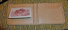 Buffalo leather Bifold Wallet by TLS  Factory Warranted NWT!
