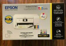 Epson EcoTank ET-2760 Wireless Inkjet Color Printer Scanner Copier w/ Bonus Ink