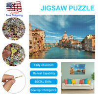 Jigsaw Puzzle 1000 piece Puzzles Desk Game Toy Adults Kids Learning Education