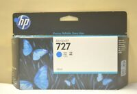 Genuine HP 727 130ml Cyan  B3P19A Designjet T920 T1500 T2500 Date Jan 2021