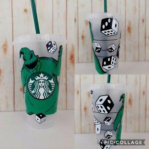 Disney Nightmare Before Christmas oogie boogie Starbucks Mug Cup Tumbler