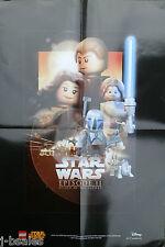Lego Star Wars Episodio Ii (2) el ataque de los clones (Ahsoka) Cartel Promo Exclusivo