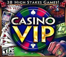 Video Game PC Casino VIP 38 high stakes games NEW SEALED Jewel