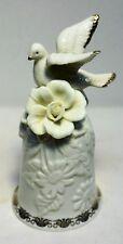 """Vintage Gilded Porcelain Bell 5 1/2"""""""