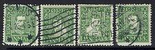 Denmark Sc# 164-167, Used, Hinge Remnant, 166 short top perfs - Lot 041217
