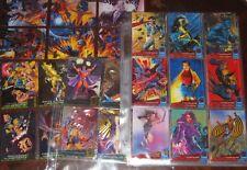 1994 Fleer Ultra X-Men MINI-MASTER SET Greatest Battles, Team Portrait++ Marvel