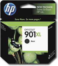 HP 901XL Black Original Ink Cartridge High Yield 2xpages deskjet/officeje printe