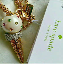NWT Kate Spade New York Ice Cream Necklace