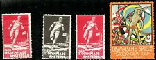 Netherlands Sweden Olympics 1928 1912 Runners & Flags