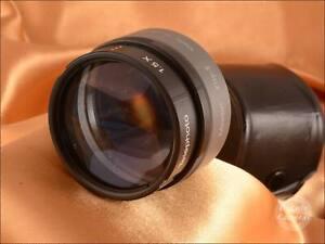 Model Flip II 2 in 1 Wide & Telephoto Video Lens Adapter 0.65 / 1.5x - VGC - 342