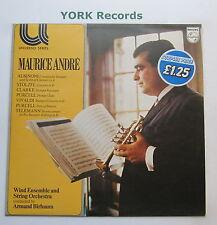 6581 018 - MAURICE ANDRE - Trumpet Recital BIRBAUM - Ecellent Con LP Record