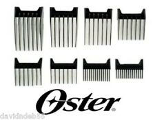 Oster 8pc Set Blade ATTACHMENT Guide Guard COMB for FAST FEED SPEED LINE CLIPPER