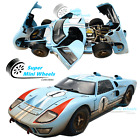 """Shelby Collectibles 1:18 1966 Ford GT 40 MKII #1 (Gulf Blue """"Dirty"""")"""