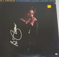 B.J. Thomas Autographed Album Hand Signed Mead Chadsky Authentication