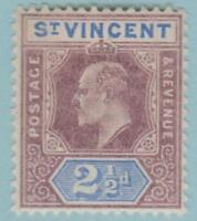 St Vincent 74 Mint Hinged OG * - No Faults Very Fine!