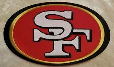 "San Francisco 49ers BIG 8"" Iron On Embroidered Patch ~USA Seller~FREE Ship!!"