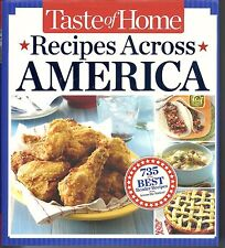 TASTE OF HOME RECIPES ACROSS AMERICA 735 OF THE BEST READER RECIPES COOKBOOK HB