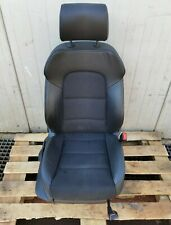 AUDI A3 8P FACELIFT 5DR HATCH S-LINE FRONT SEAT RIGHT DRIVER SIDE HALF-LEATHER