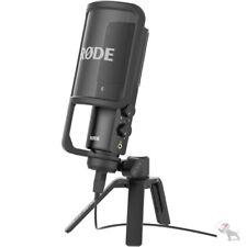 Rode NT-USB Studio Quality USB Condenser Microphone w/ Desk Stand & Pop Shield