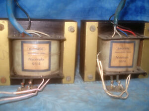 Pair Original Grundig 96/4 Tubeamp Power Transformer EL12