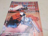 Tecumseh Mechanics Handbook Two Cycle TC Series Illustrated Service Manual