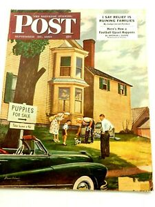 The Saturday Evening Post Magazine Great Advertisements September 30, 1950