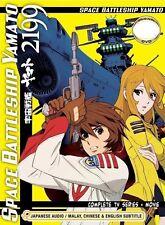 DVD Space Battleship Yamato 2199 Complete Series + Movie Eng Sub Free Ship