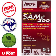 Jarrow Formulas, Natural SAM-e, 200 mg, 60 Tablets
