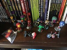 12 MARVEL Grab Zags IRON MAN WOLVERINE SPIDER-MAN HULK CAPTAIN AMERICA CYCLOPS +