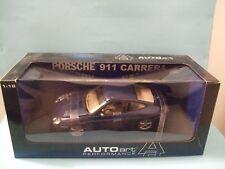 Porsche Carrera 911coupe BLUE lapisblaumetallic scale 1:18 DIECAST AUTOART 77851