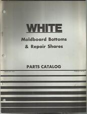 WHITE MOLDBOARD BOTTOMS & REPAIR SHARES PARTS CATALOG